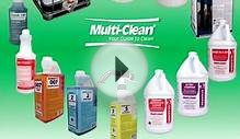 Commercial Cleaning Chemicals and Floor Maintenance