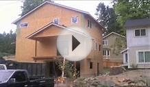 Construction Company in Seattle Building Home from the