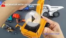 Learning Construction Vehicles Names for kids with tomica