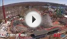 Wicked Cyclone at Six Flags New England Construction update 7