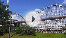 Wicked Cyclone at Six Flags New England Construction (8/10/14)